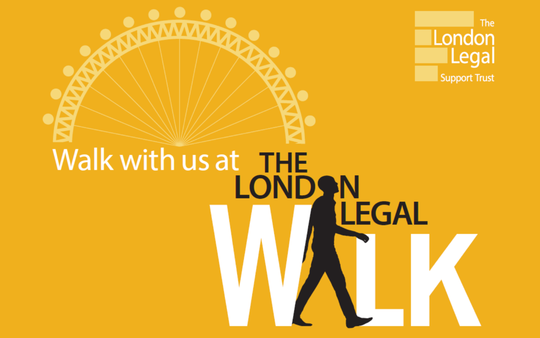 London Legal Support Trust Charity Walk