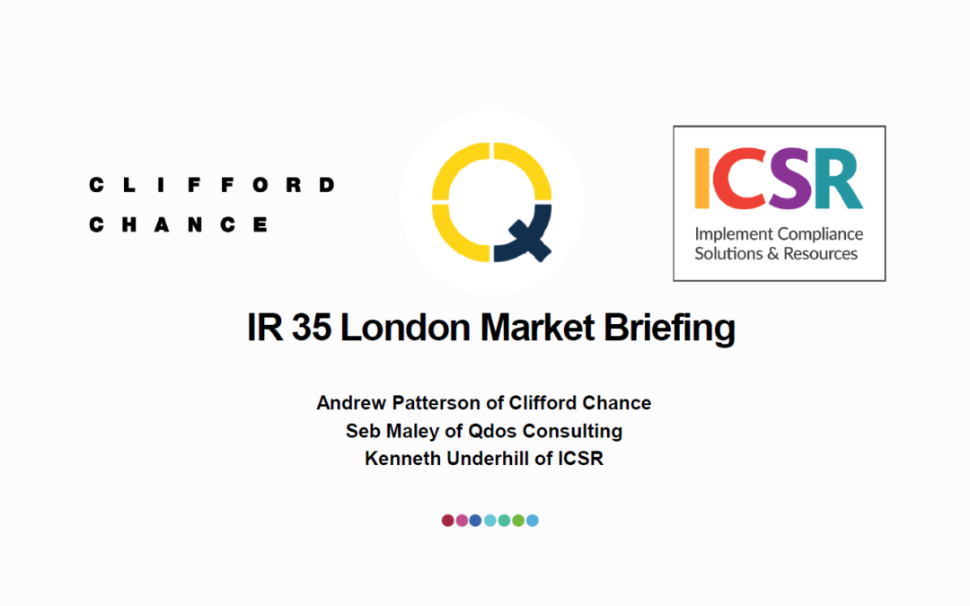 IR35: A guide to the new regulations for the Insurance market
