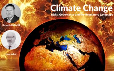 Climate Change Webinar: Risks, Governance and the Regulatory Landscape