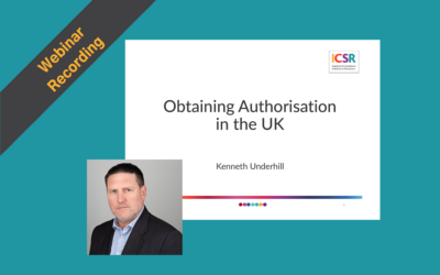 Webinar Recording: Making Authorisation Applications to the PRA & FCA
